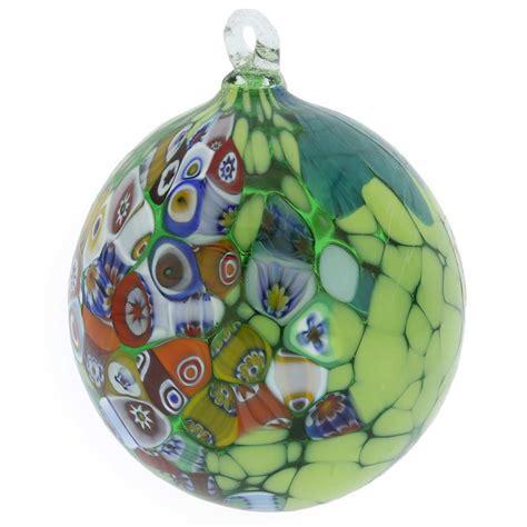 christmas tree ornaments primavera millefiori murano