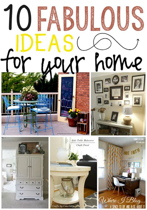 10 fabulous organizing projects linky party features love of family home ginger snap crafts 10 fabulous ideas for your home