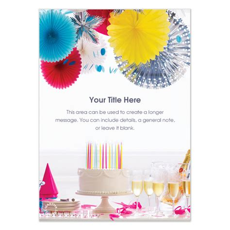Martha Stewart Birthday Card Template by Invitation Template Martha Stewart Choice Image