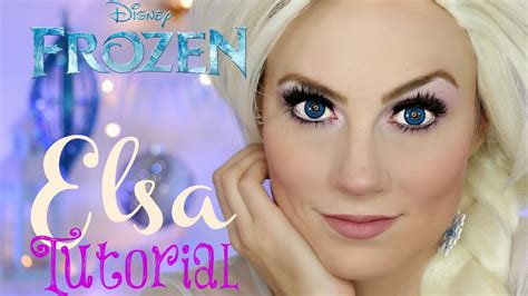 queen elsa makeup tutorial video frozen s queen elsa halloween makeup tutorial