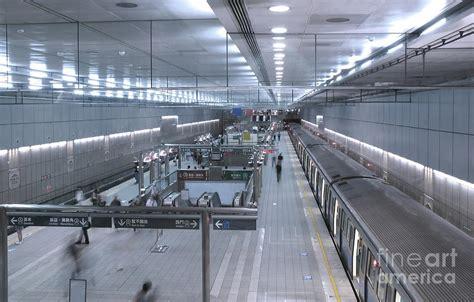 underground vault by yali shi subway station interior photograph by yali shi