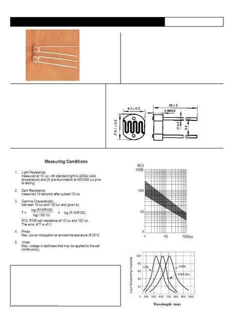 resistor ldr pdf gl5516 datasheet pdf pinout gl5516 28 images gl5516 datasheet pdf pinout gl5516 gl5549