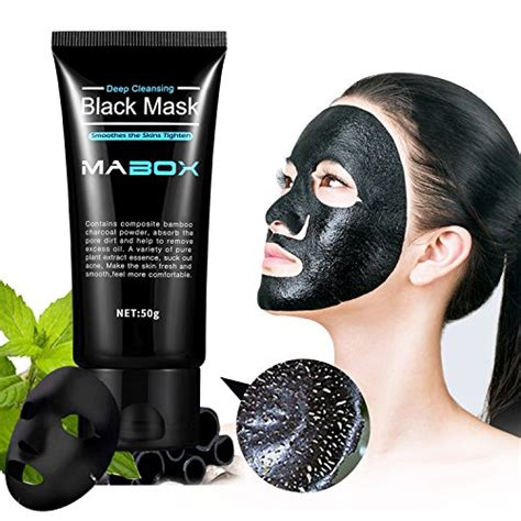 Best Detox Mask For Acne by Mabox Blackhead Remover Mask Blackhead Cleansing Mask