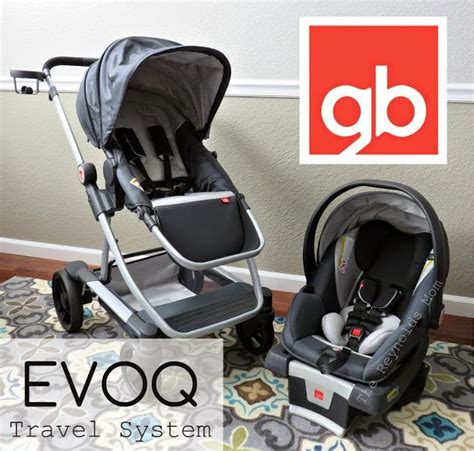 Gb Stoller Travel System gb evoq travel system for infants through built in glide board reversible seat