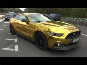 gold ford mustang gt youtube