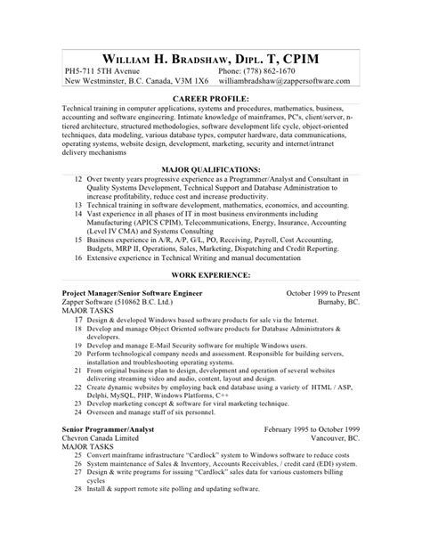 Effective Resume Sles by Resume Format For Lecturer