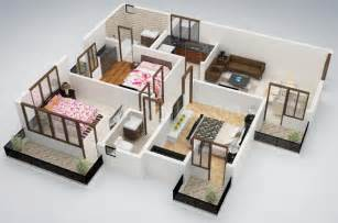 tiny house 3 bedrooms creative three bedroom layout source krishna group