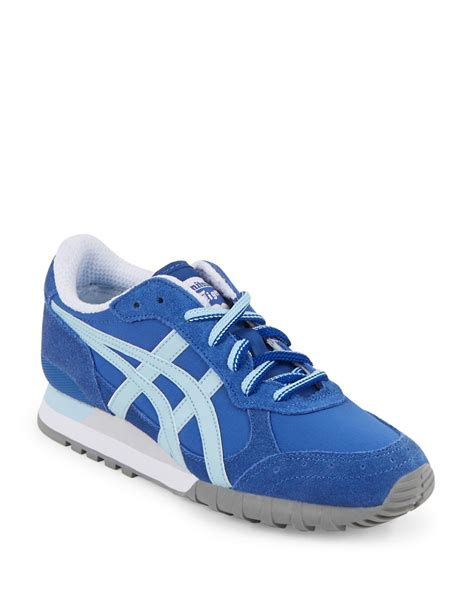 sneakers for asics colorado lace up sneakers in blue for lyst
