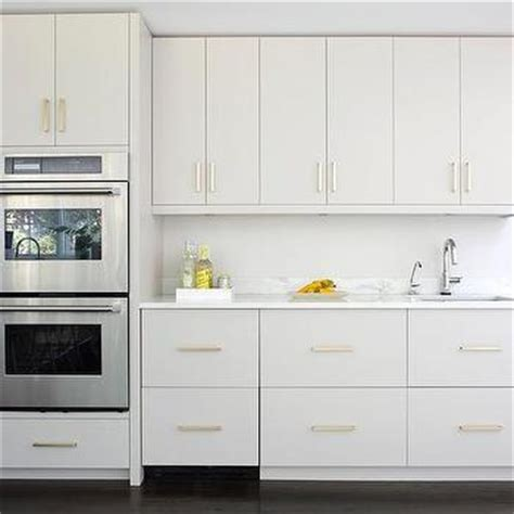 gray flat front kitchen cabinets design ideas