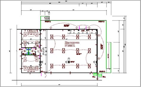electrical layout dwg download commercial building electrical plan layout details dwg file