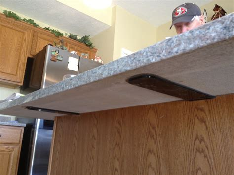 Supports For Granite Countertops by Supports Granite America