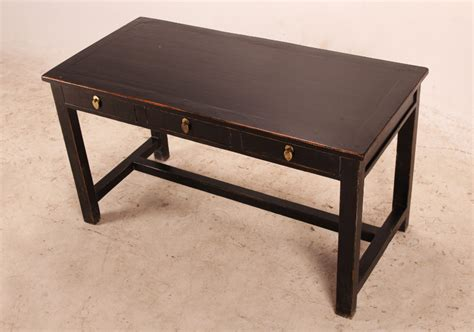 black desk with drawers solid wood black desk with drawers desks
