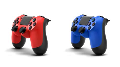 ps4 controllers colors new dualshock 4 controller colors quot wave blue quot and quot magma