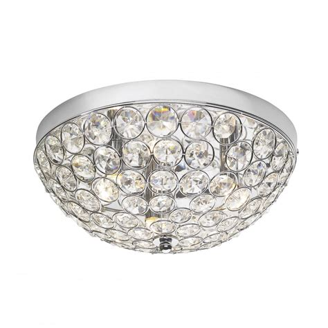 Flush Fit Ceiling Lights Modern Chrome And Flush Fit Ceiling Light Great For Bedrooms