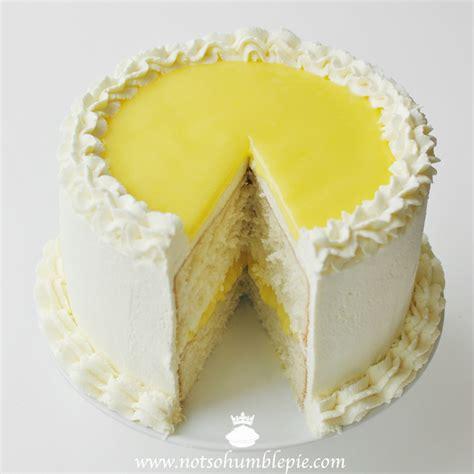 Lemon Cake by Not So Humble Pie Lemon Mascarpone Cake