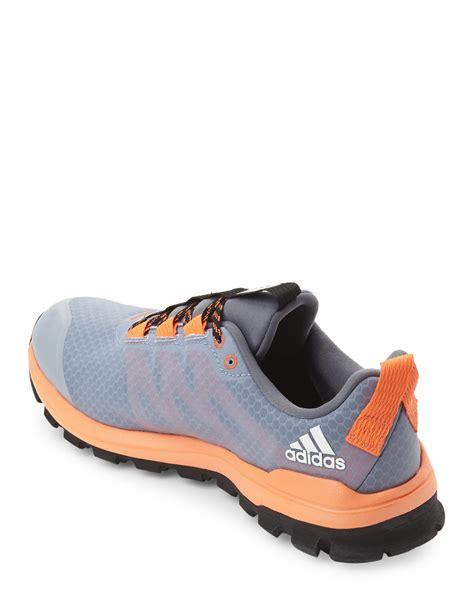 Ardilez Marendaz Orange Grey Running Shoes adidas originals grey orange vigor 6 running sneakers in gray lyst