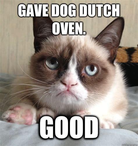 Grumpy Cat Meme Images - gave dog dutch oven good australia day grumpy cat