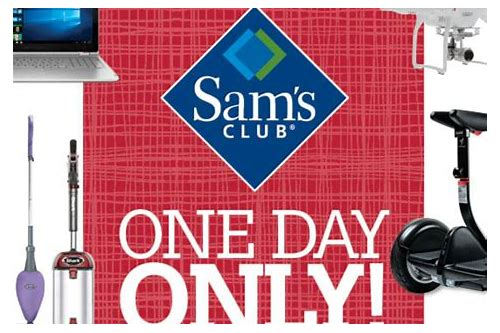 sam's club deals tomorrow