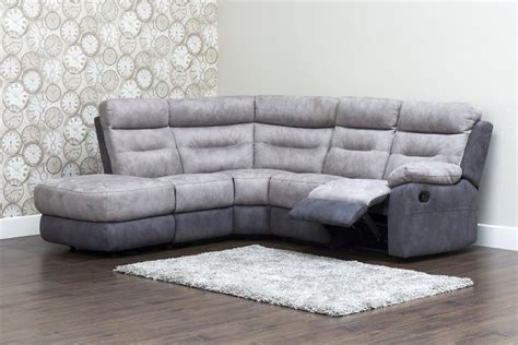Fabric Corner Sofa With Recliner by Dillon Fabric Recliner Corner Sofa Lhf