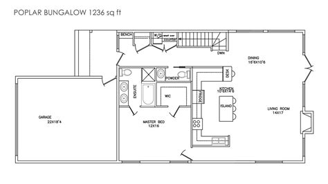 bungalow blueprints sylvan lake bungalows brightwater living