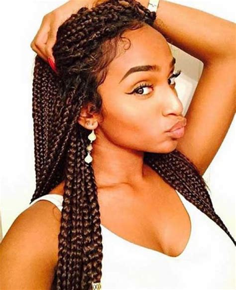 slick box braids 25 afro hairstyles with braids hairstyles haircuts