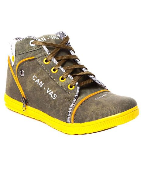 trilokani fancy green casual shoes price in india buy