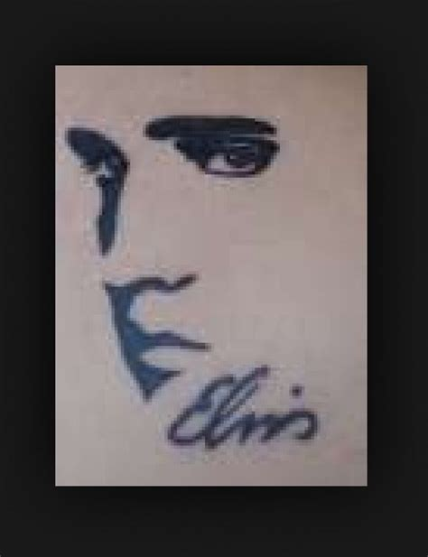 elvis tattoo designs idea elvis