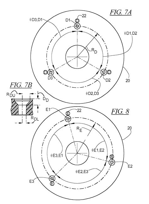 hole pattern drawing patent us6382276 router table adapter base plate