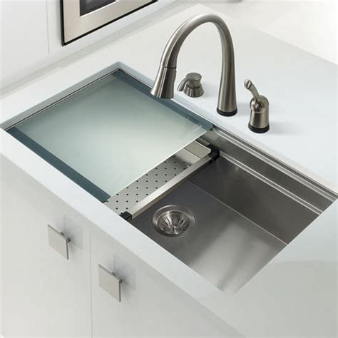 Kitchen Sinks Uk Ex Nvs5200 Novus Series Undermount Single Bowl Kitchen Sink In Stainless Steel By Houzer