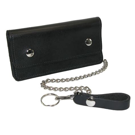 Chain Wallet by Mens Leather Large Trucker Chain Wallet By Ctm 174 Chain