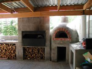 Fire Pit Restaurant by Domestic Ovens Amp Braai S Wood Burning Pizza Ovens Italoven