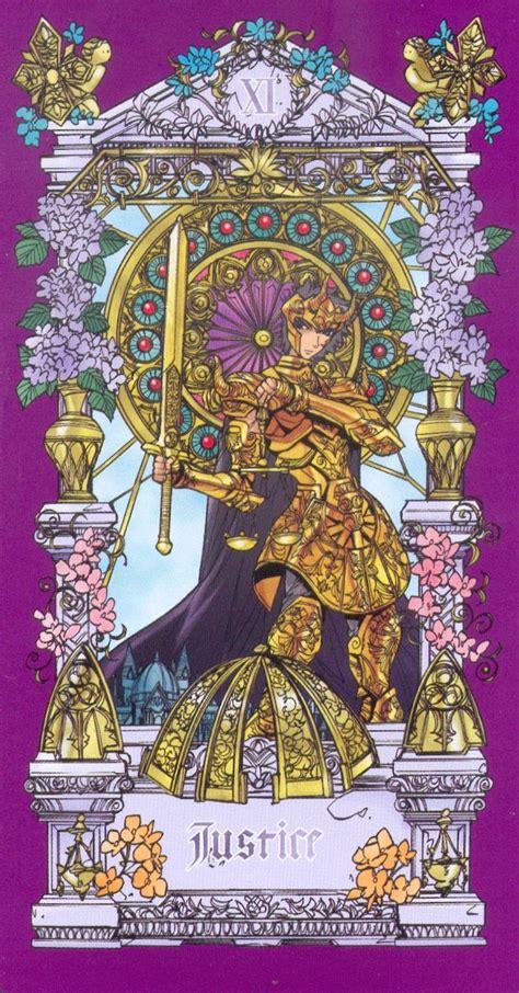 justice tarot tarot cards zerochan anime image board