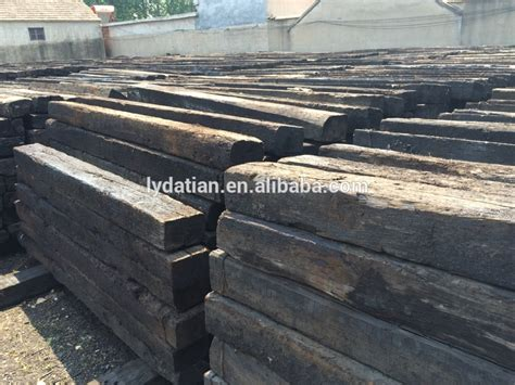 What Wood Is Used For Railway Sleepers by Used Railway Wooden Sleeper For Landscaping Buy Used