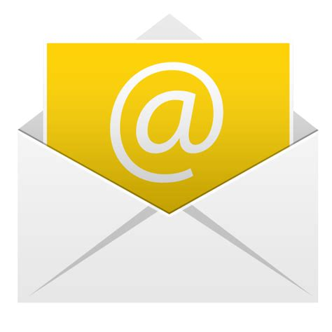 email icon email icon android application icons softicons