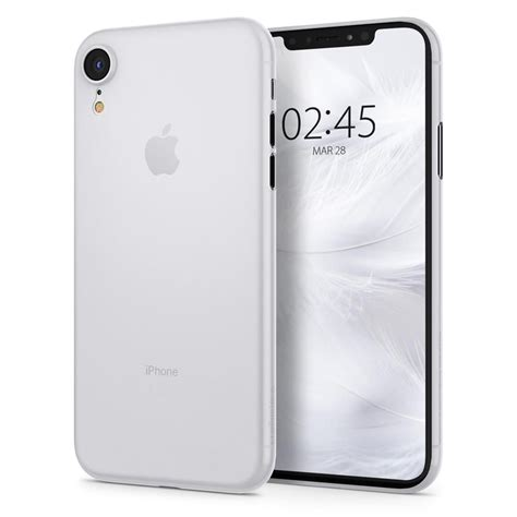 spigen airskin ultra thin cover iphone xr white soft clear white hurtel pl gsm wholesale