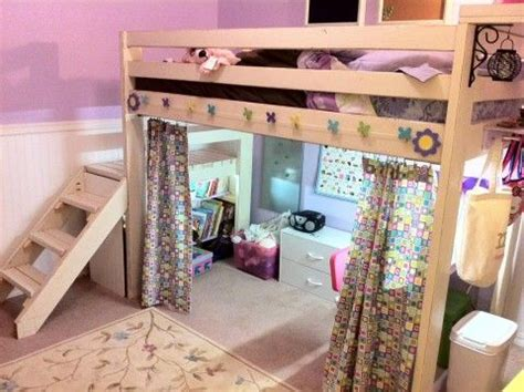 delectable hanging bed plans style in curtain design best 25 loft bed curtains ideas on loft bed
