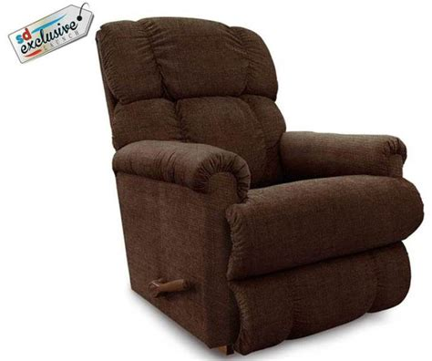 lazboy recliner with brown fabric cover
