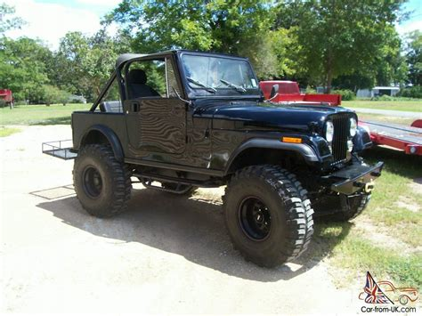 Lifted Jeep Cj7 For Sale 1985 Jeep Cj7 Hardtop V 8 38 5 Tires Lifted