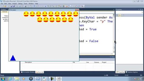 tutorial visual basic express 2010 visual basic express 2010 tutorial 43 pausing the game