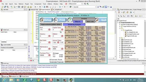 delphi software tutorial delphi programming tutorial 85 property analyser