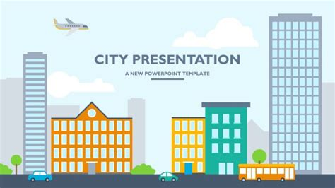 50 Best Powerpoint Templates Of 2018 Envato City Powerpoint Template