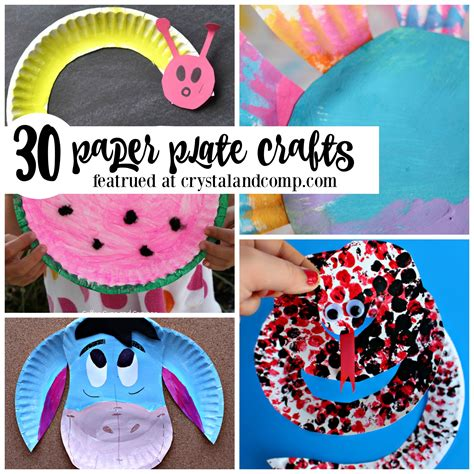 Crafts To Make With Paper Plates - paper plate crafts for