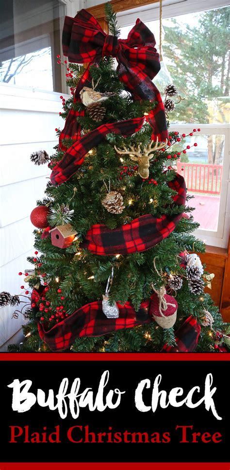 10 buffalo check plaid christmas ideas weekend craft