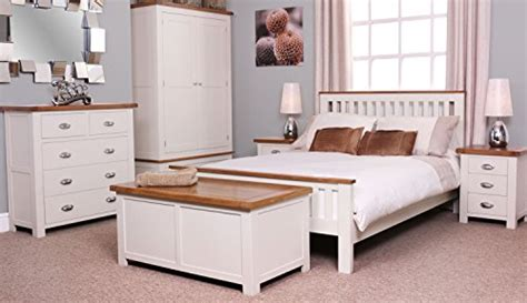White And Oak Bedroom Furniture by White Wooden Bedroom Furniture Bedroom Contemporary