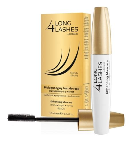 7 Best Products For Longer Lashes by Aa 4 Lashes Enhancing Mascara Pielęgnacyjny Tusz Do