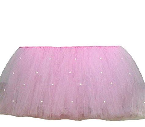 how to make a tulle table skirt 25 unique table skirts ideas on tutu table