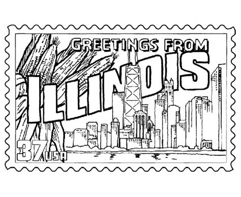 Chicago Skyline Coloring Page free coloring pages of skyline of chicago