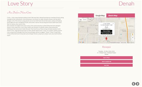template denah undangan desain undangan online flip datangya com
