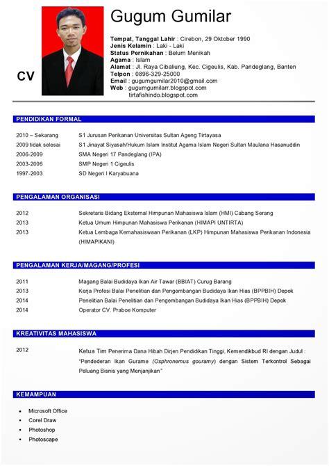 cara membuat cv yang baik melalui email dunia kita cara membuat cv curriculum vitae yang baik