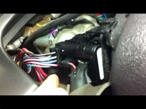Replace L Switch how to replace headlight flasher switch on saturn l200